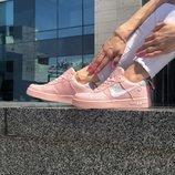 Жіночі кросівки Nike Air Force Pink | Женские кроссовки Найк
