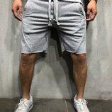 Стильные мужские трикотажные шорты s-m-l-xl