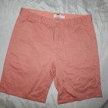 шорты мужские стильные модные коралловые р32