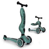Scoot and Ride Highwaykick 1 Самокат-Беговел 2 в 1 зеленый Scooter and Ride On Toy forest