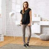 Стильные и очень удобные джинсы с напылением Tchibo Германия размер 40 евро 46-48