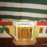Playmobil - тропический hotel, состояние хорошее, встроенная мебель, двери открываются, очень интере
