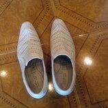 Кожаные мужские летние туфли, 43р. Carnaby