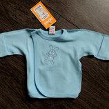 Акция. Распродажа. Распашонка, кофточка для новорожденных Рп7 Тм Бемби