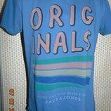 Стильная фирменная футболка Jack&Jones.с-м.