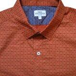 Мужская рубашка с коротким рукавом в узорчик Next L