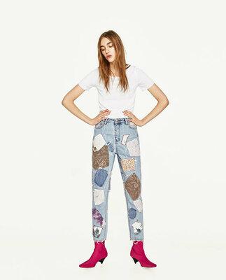 Винтажные мом джинсы от ZARA Woman, 34, 36р, оригинал, Испания