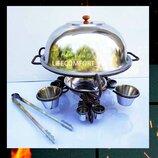 Садж сковорода подставка для подачи шашлыка - оригинальный подарок мужчине