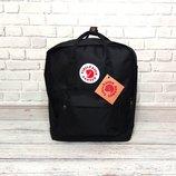 Стильный рюкзак сумка Kanken Черная Супер Цена