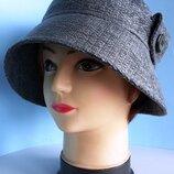 Шляпа женская. Клош. Демисезонная.ткань Шанель . Цена 250 гр.