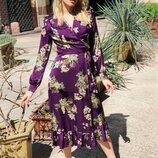 Воздушное платье 4 цвета 42-44 размеры