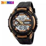 Часы SKMEI 1202 Black Gold