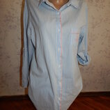 халат-рубашка батистовый рМ 10-12