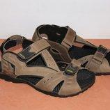 Сандалии кожаные мужские 41-45 р коричневые арт 5622