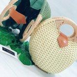 Пляжная сумка - улитка два цвета