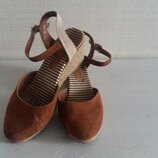 Фирменные женские туфли босоножки Marks&Spenser M&S стелька 25 см