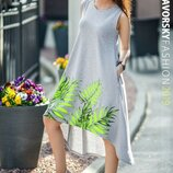 Платье 2 цвета 42 44 46 48 размеры
