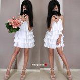 Платье 7 расцветок 42-46 размеры