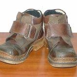 Демисезонные ботинки. Р. 25, 15,5 см. Pafi ortopedi. Кожа.