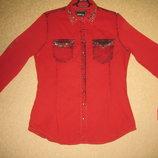 Красивенная блузка- рубашка. Размеры 44- 48
