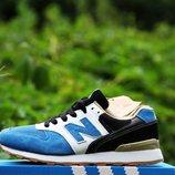 Кроссовки New Balance 996 blue унисекс