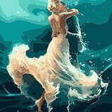 Картина По Номерам Идейка. Люди НА Волне Танца 40 50СМ KHO4566