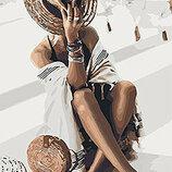 Картина По Номерам Идейка. Люди ВОЛШЕБНАЯ Незнакомка 40 50СМ KHO4569