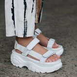 Buffalo London Sandals White
