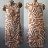 Платье футляр шифоновое, трапецией. H&M
