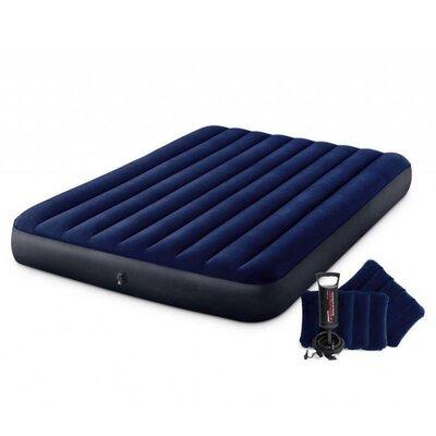 Матрас надувной Intex насос две подушки 203 х 152 х 25 см 64765