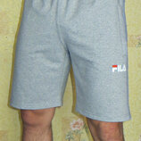 Мужские трикотажные шорты Fila светло-серые
