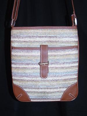 Шикарная плетёная сумка - планшет