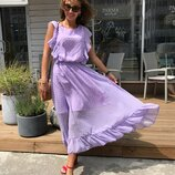Красивое летнее платье «Альмерия» пять расцветок