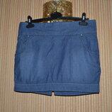 М/38/10 Джинсовая юбка, короткая юбка.