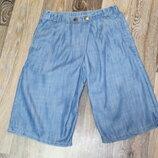 джинсовые кюлоты F&F на девочку 11-12 лет в идеальном состоянии