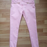 Классные летние джинсы-скинни F&F на р.152-158