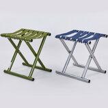 Стул туристический складной без спинки 0533 стульчик туристический размер 30х32х21см