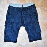 джинсовые бриджи Soul Cal размер W32 50-52