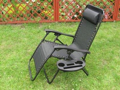 Садовый шезлонг, лежак, стул, кресло для отдыха. Польша. Ar.