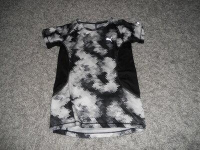 футболка пума оригинал на 8-9лет