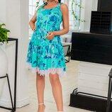 платье Ткань софт кружево