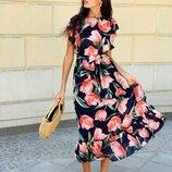 Платье 2 цвета 42-44 размеры