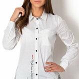 Блуза модная с длинным рукавом на девочку Тм Mevis 2643 Размеры 146- 164