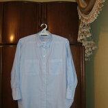 Базовая рубашка оверсайз Next, 100% хлопок, размер 14/42