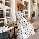 Платье 3 цвета 42 44 46 размеры