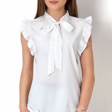 Блуза с коротким рукавом на девочку Тм Mevis 2670 Размеры 146- 164