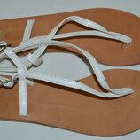Босоножки сандали кожа asos размер 38 5 39, босоніжки шкіра