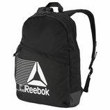 Рюкзак Reebok On-the-Go Backpack With Storage Black 19L Оригинал спортивный