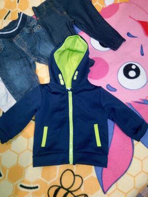 Фирменная курточка спортивная/Куртка с капюшоном спортивная