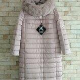 Зимняя куртка-пуховик X-Woyz, 48 р. , пепельно розовая
